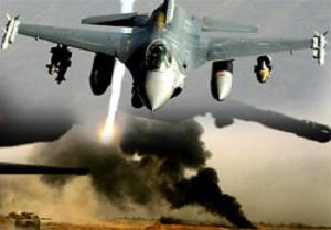 İsrail, Mısır Gazze sınırını havadan vurdu.10565