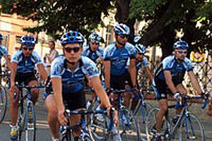 Bisiklet Turu'nda kaza: 4 yaralı.22838