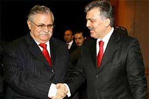 Talabani 'Abdullah Gül'den söz almış.11015