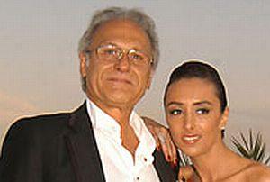 Eda Taşpınar'ın babası evlendi.10343