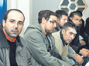 Kazaklar Türk işçilere saldırdı.15006