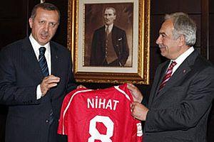 Erdoğan'ın engelli gence forma sözü.15544