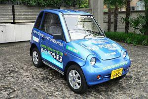 Japonlar su ve havayla �al��an bir otomobil �retti.23763