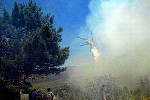 Milas'ta tarim arazisinde yangın.11190