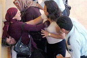 Kadınlar Adliye'de birbirine girdi.14785