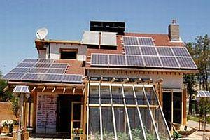 Türkiye'nin ilk 'güneş evi' açılıyor.18613