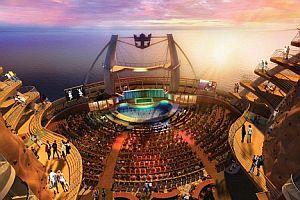 Okyanusun ortasında tiyatro keyfi.20629