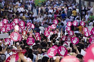 Ankara'da 'Darbeye Karşı Ses Çıkar' yürüyüşü.24367