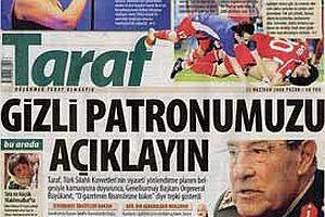 Taraf'tan G.Kurmay'a: 'Gizli patronu istihbarat açıklasın'.23883