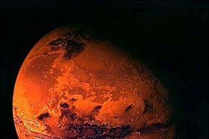 Güneş sisteminin en büyük krateri Mars'ta.10308