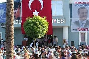 480 Demokrat Partili törenle AK Parti'ye katıldı.21596