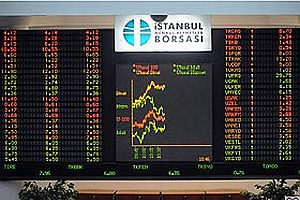 Borsa ilk yarıda yükseldi.22411