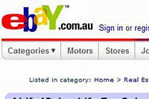 eBay'de satılmayan sadece hayatımız kalmıştı.12849