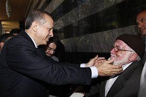 Erdoğan, hapisten arkadaşı ile karşılaştı.12861