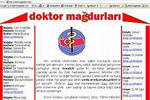 Doktor mağdurları internette birleşti.23200