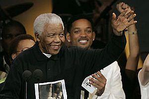 Mandela'nın 90'ıncı yaşı kutlandı.13203