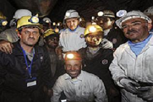 Başbakan Erdoğan maden ocağına indi.14922