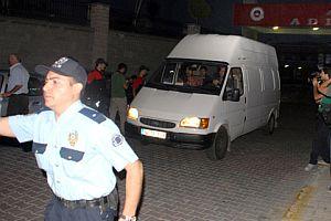 9 kişi tutuklama talebiyle mahkemeye sevk edildi.14322