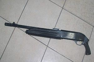 Malatya'da 15 tüfek bulundu.9796