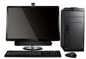 Lenovo'nun tüm dünyaya sunduğu ilk desktop.8757
