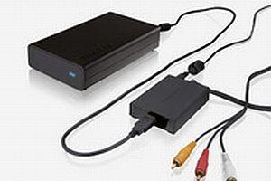Mediaplayer XS:USB sabit diski TV'ye bağlayın.11086