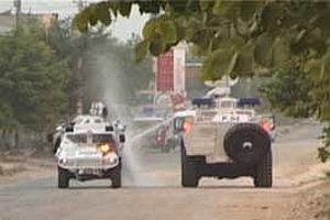 PKK yandaşları Mersin'de polise saldırdı.12818