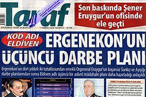 Ergenekon sürecinde Taraf gazetesinin tirajı arttı.27620