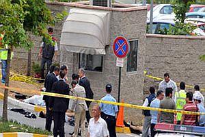 Saldırıda kaçan teröristin kullandığı araç bulundu.22679