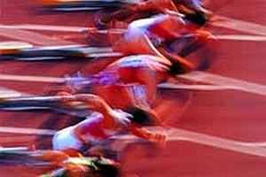Türk bayan atlet finalde.13658