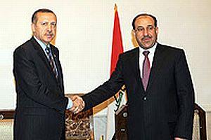 Erdoğan ile Maliki stratejik işbirliği anlaşması imzaladı.13188
