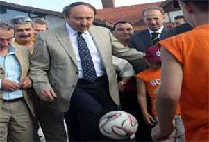 Bakan, Trabzonspor kampında şov yaptı.13548