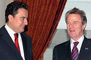 Babacan, Kouchner ile görüştü.13714