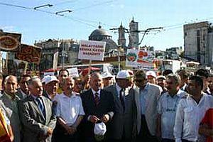 'Kayısı Festivali' Taksim'de başladı.18847