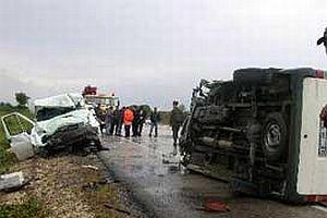 Manavgat'ta trafik kazası: 3 ölü.13702