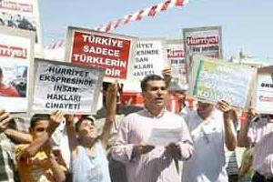 Hürriyet'in trenine Batman protestosu!.16508