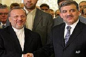 İran Dışişleri Bakanı Mutteki Ankara'ya geldi.11521