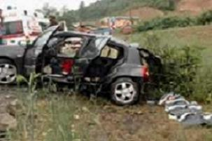 Trabzonda feci kaza: 4 �l�, 2 yaral�.12502