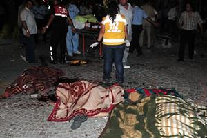 Hain saldırıda 10 kişi adliyeye sevk edildi.15121