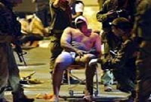 İsrail askerinden çıplak işkence!.14433