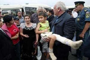 30 bin kişinin G. Osetya'yı terk ettiği bildirildi.12597