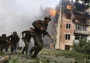 Rus birlikleri Gürcistan topraklarına girdi.12805