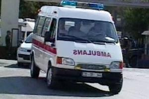 Ehliyetsiz ambulans kullandı.12203
