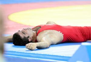 Grekoremon güreşte hayalkırıklığı.8691