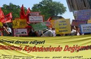 Taksim'de ÖSS protesto edildi!.15942
