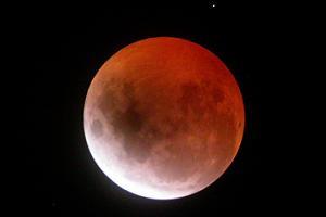 Ay tutulması çıplak gözle görüldü.11536