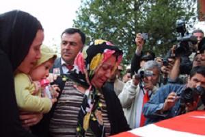 Şehit Astsubay Müslüm Fırat'a tören!.15105