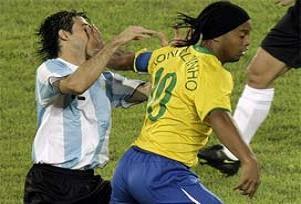 Arjantin, Brezilya'yı farklı geçti.15493