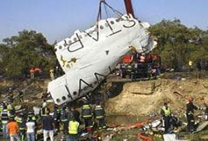 Uçak kazası mağdurları mahkemede.16699