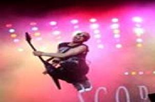 Ünlü rock grubu Scorpions İstanbul'u salladı.8430