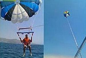 Deniz paraşütünün halatı koptu: 1 ölü.9968